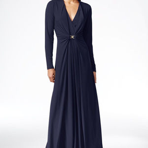 Calvin Klein Navy Blue Formal Gown NWT